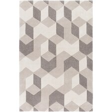 Cosmopolitan Hand-Tufted Neutral Area Rug