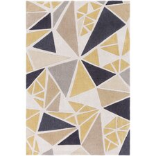 Cosmopolitan Hand-Tufted Neutral/Gray Area Rug