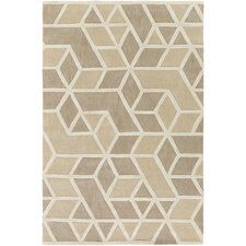 Oasis Hand-Tufted Neutral Area Rug