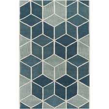 Oasis Hand-Tufted Blue/Green Area Rug