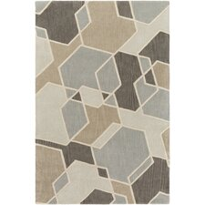 Oasis Hand-Tufted Green/Neutral Area Rug