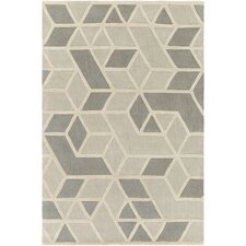 Oasis Hand-Tufted Gray Area Rug
