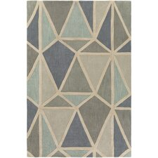 Oasis Hand-Tufted Neutral/Gray Area Rug