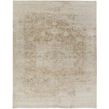 Soma Hand-Knotted Grey/Brown Area Rug