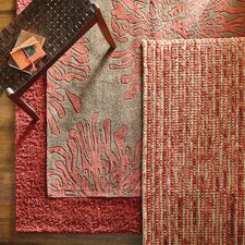 Bombay Chocolate/Red Area Rug