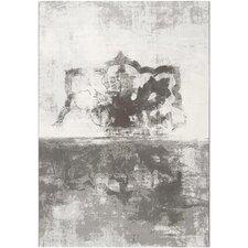 Contempo White & Grey Area Rug