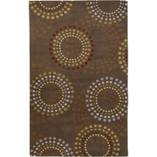 Forum Chocolate/Gold Area Rug