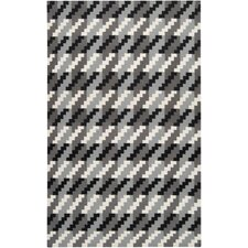 Frontier Jet Black/Foggy Area Rug