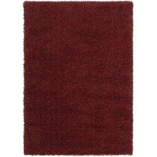 Luxury Shag Sienna/Brick Red Rug