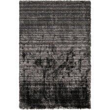 Merlot Black Area Rug