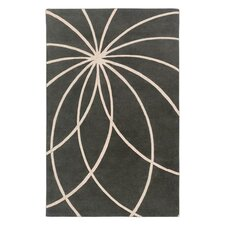 Forum Iron Ore/Antique White Area Rug