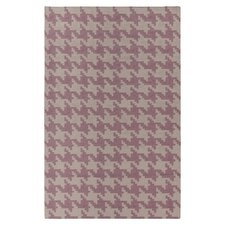 Frontier Elephant Gray/Twilight Mauve Area Rug