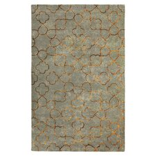 Essence Foggy Blue Area Rug