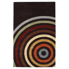 Forum Multi and Espresso Area Rug