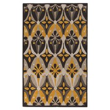Mamba Feather Gray/Old Gold Rug