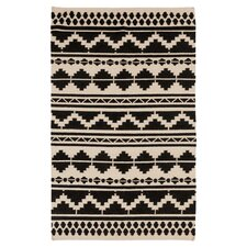 Frontier Feather Gray Ikat Area Rug