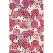 Stick Candy Pink Area Rug