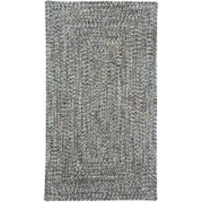 Sea Pottery Smoke Variegated Outdoor Area Rug