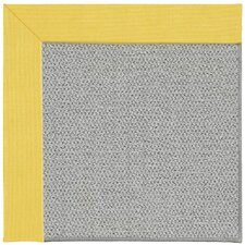 Inspirit Silver Machine Tufted Canary/Gray Area Rug