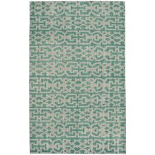 Classic Hand-Knotted Grass Area Rug