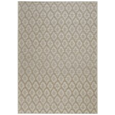 Udorn Tan Diamond Indoor/Outdoor Area Rug