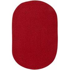 Manteo Dark Red Area Rug