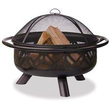 Bronze Outdoor Geometric Design Fire Pit