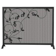 1 Panel Wrought Iron Screen