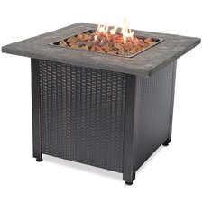Stainless Steel Gas Outdoor Fire Pit Table