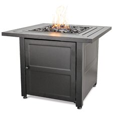 Steel Propane Outdoor Fire Pit Table