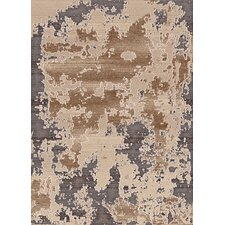 Treasure Cream Abstract Area Rug