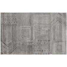 Posh Gray Area Rug