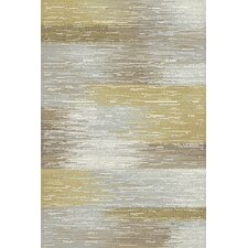 Royal Treasure Gray & Yellow Area Rug