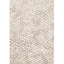 Eclipse Ivory Block Area Rug