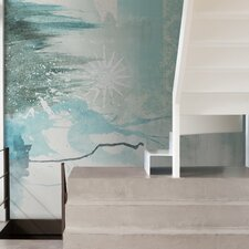 Journeys  Olinto Abstract Wall Mural