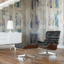 Journeys  Rooster Abstract Wall Mural