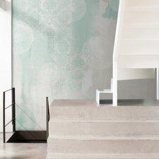 Journeys  Hidrangea Abstract Wall Mural