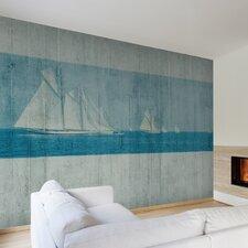 Journeys  Sailboat Scenic Wall Mural