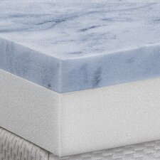 "4"" Gel Memory Foam 2 Layer Topper"