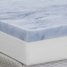 "3"" Gel Memory Foam 2 Layer Topper"