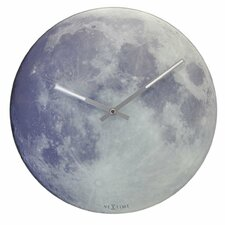 "Blue Moon 11.8"" Wall Clock"