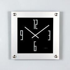 "15.7"" ""Steel"" Wall Clock"