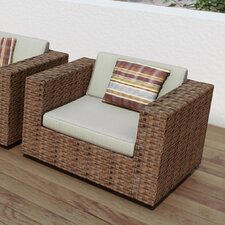 Park Terrace Deep Seating Chair with Cushions