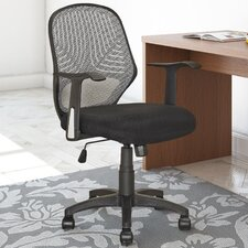 Workspace Mid-Back Mesh Office Chair with Arms