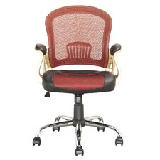 Workspace Mid-Back Mesh Conference Chair with Arms