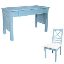 Palmetto Beach Writing Desk with Chair