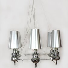 Tiffany 6 Light Chandelier