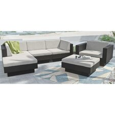 Park Terrace 6 Piece Deep Seating Grouping With Cushions