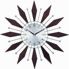 "Telechron 20"" Harper Sunburst Wall Clock"