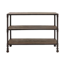 "Bemiston Level Prep Table 35.8"" Accent Shelf Bookcase"